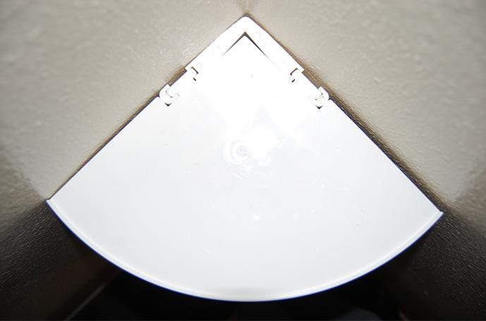 Floating Shelf Inner Corner White - CornerMate