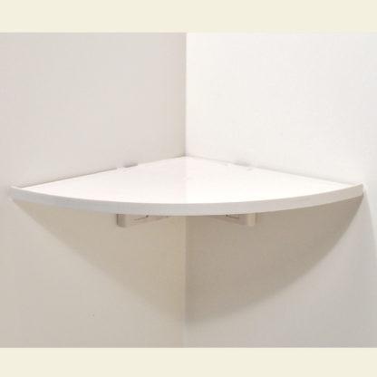 Buy Now CornerMate Easy Corner Shelf Inner White Mount Office Storage Organization Simple DIY Shelves Do It Yourself Shelving