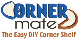 CornerMate Corner Shelf Buy Cornershelf Shelving Easy Shelves
