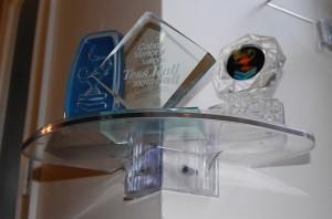 Inner Clear Shelf trophies