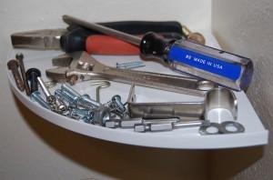 Inner White Shelf tools