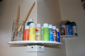 Outer White Shelf crafts